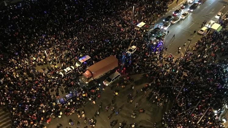 مقتل 36 شخصا نتيجة التدافع في رأس السنة بشنغهاي الصينية