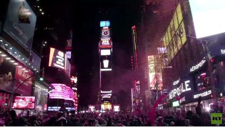 نيويورك تحتفل بالعام الجديد وسط إجراءات أمنية مشددة