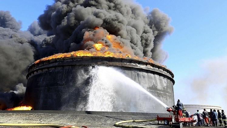 ليبيا تقترب من السيطرة على حريق السدرة
