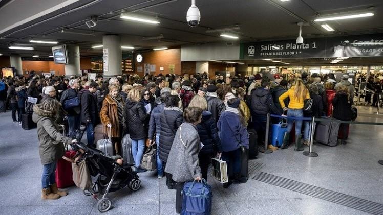 إخلاء محطة قطارات وسط مدريد بعد تهديدات
