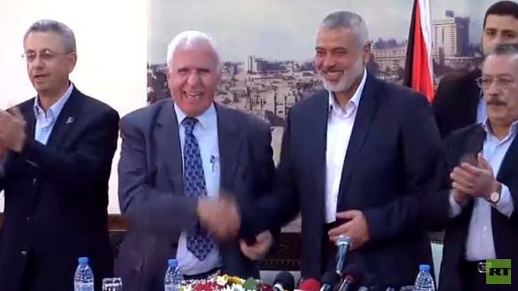 اتفاق المصالحة الفلسطينية في القاهرة