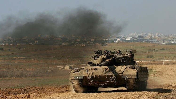 توغل إسرائيلي في قطاع غزة