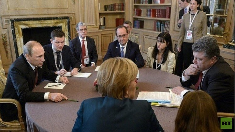 باريس: استئناف المباحثات حول أوكرانيا قريبا