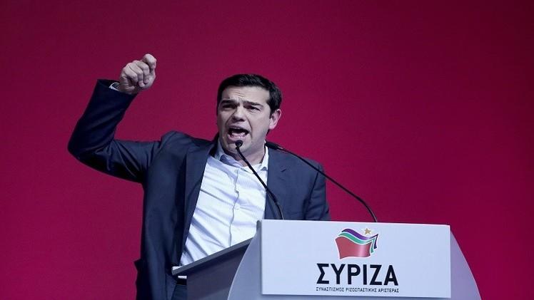 تسيبراس ضدالتقشف وميركل لا تعارض خروج اليونان من منطقة اليورو