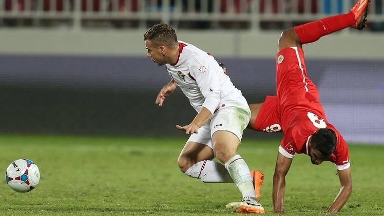 الأحمر البحريني يهزم نشامى الأردن وديا