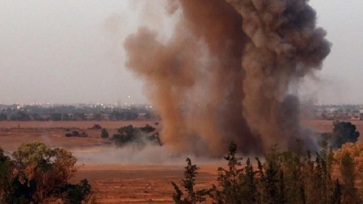 ليبيا.. استمرار الغارات الجوية على مصراتة