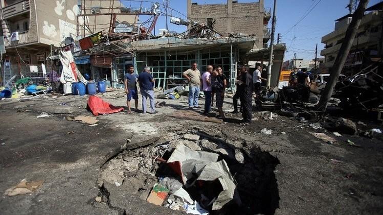 مقتل 4 أشخاص بانفجارات وسط بغداد
