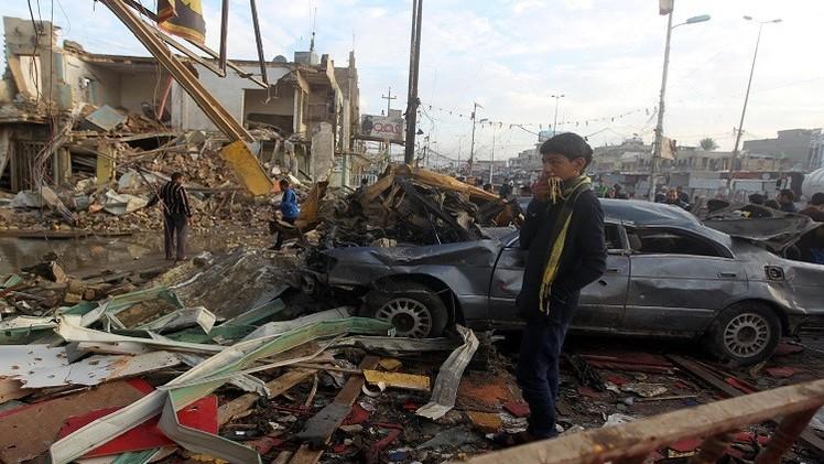 بغداد..  مقتل وإصابة 32 شخصا بانفجار 6 عبوات ناسفة