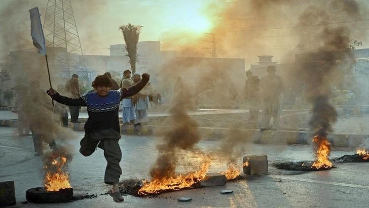5 قتلى بانفجار قنبلة فى ملعب كرة طائرة بباكستان