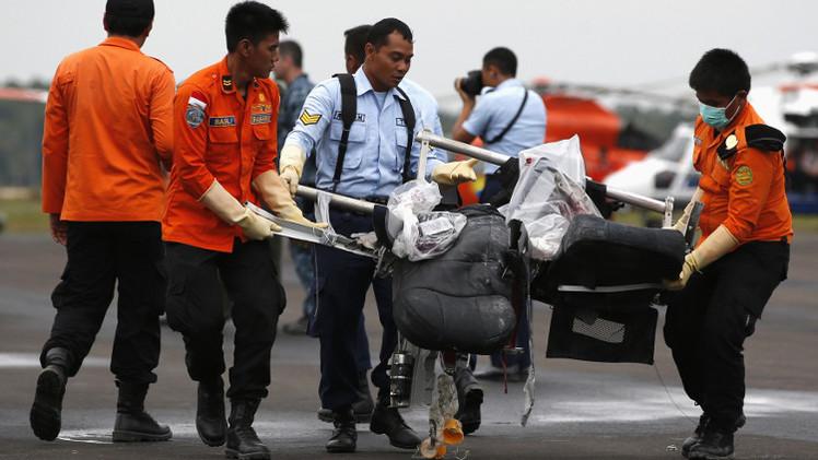 تحديد هوية 13 شخصا من ضحايا حادثة تحطم الطائرة الإندونيسية