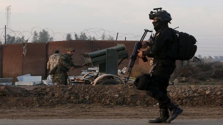 قوات أمريكية تدرب الجيش العراقي
