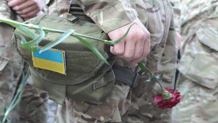 مقتل 13 من الحرس الوطني الأوكراني شرق البلاد
