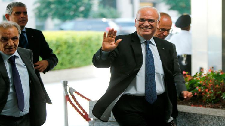 عريقات يؤكد الرجوع الى مجلس الأمن بعد موافقة لجنة المتابعة.. وحماس ترفض