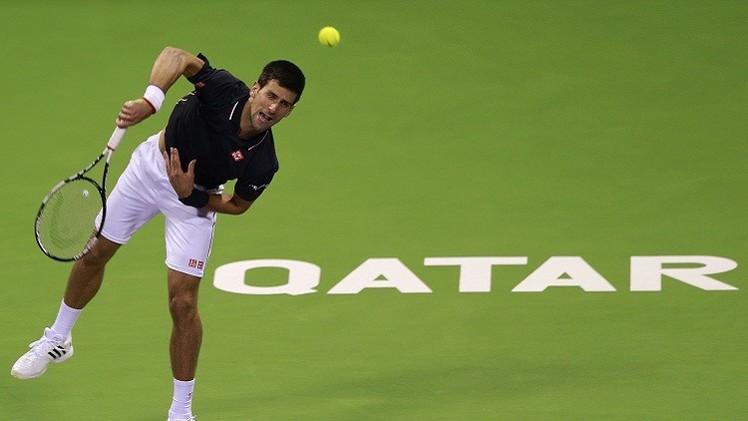 بداية قوية لديوكوفيتش في بطولة قطر المفتوحة للتنس ومخيبة لنادال