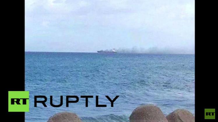 السلطات الليبية تؤكد قصفها ناقلة نفط