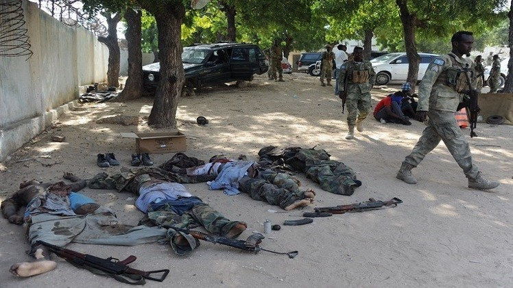 مقتل 54 مسلحا من حركة الشباب شمال شرق الصومال