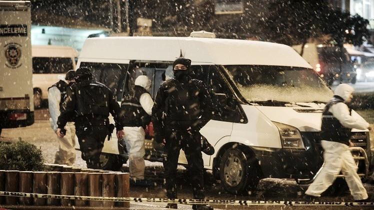 مقتل شرطي تركي بهجوم في إسطنبول