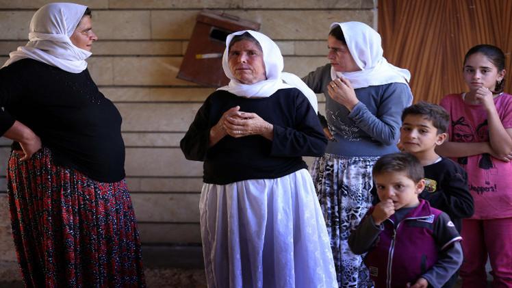 3 آلاف إمرأة إيزيدية بقبضة