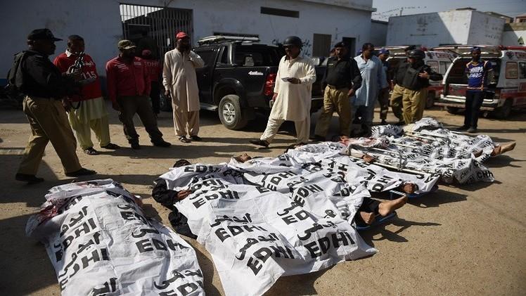 باكستان.. مقتل 7 مسلحين جراء انفجار لغم أرضي