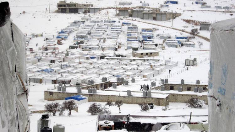 اليونيسيف: مقتل 10 أطفال جدد من اللاجئين السوريين بسبب البرد