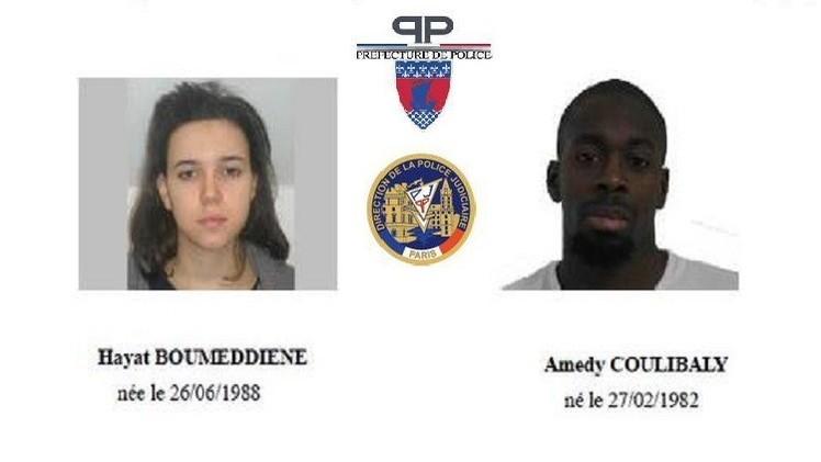 السلطات الفرنسية: حياة بومدين تواجدت في تركيا أو سوريا قبل أحداث باريس