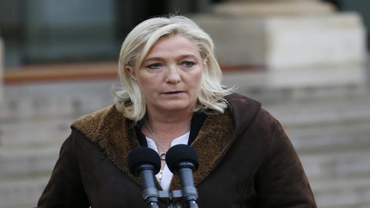مارين لوبان تقترح تجريد المتورطين بالإرهاب من الجنسية الفرنسية