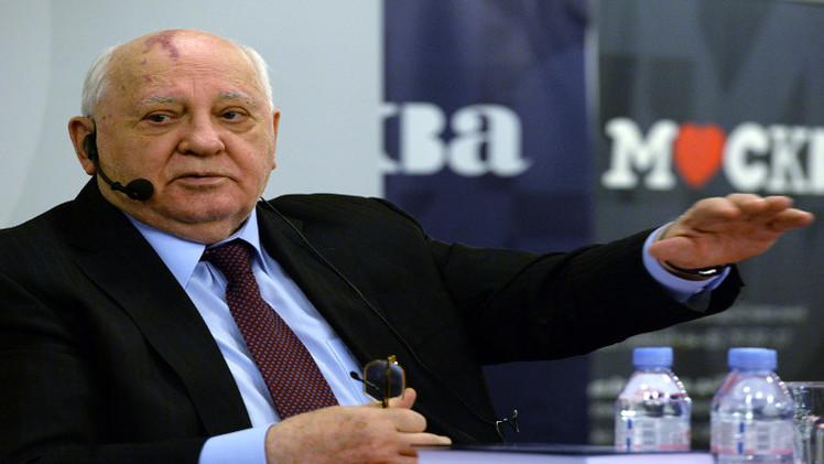 غورباتشوف: التوتر بين روسيا وأوروبا قد يؤدي الى أزمة حقيقية