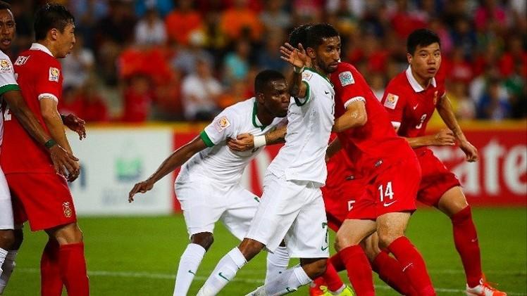 التنين الصيني يحرق الأخضر السعودي في كأس آسيا (فيديو)