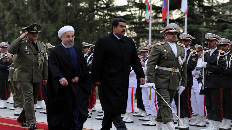 مادورو من إيران إلى السعودية سعيا لكبح انخفاض أسعار النفط