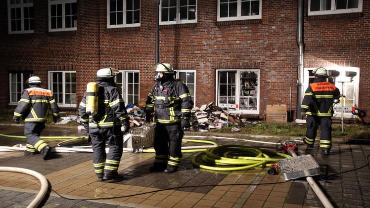 حريق متعمد في صحيفة ألمانية أعادت نشر رسوم