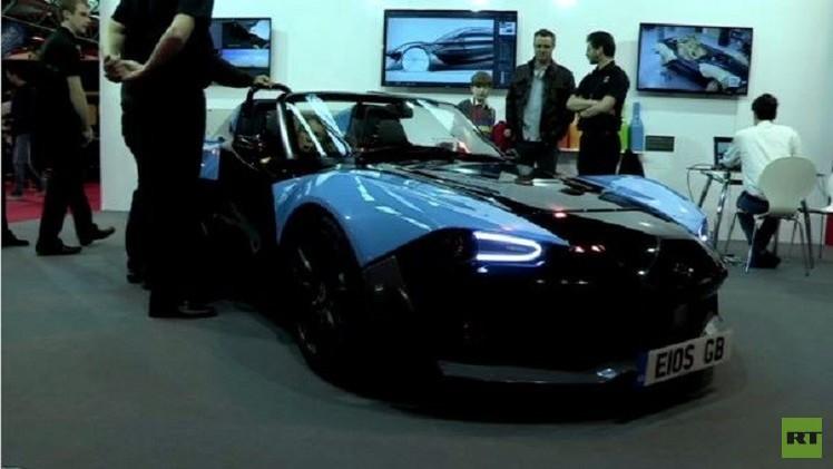 بالفيديو.. سيارة رياضية جديدة من