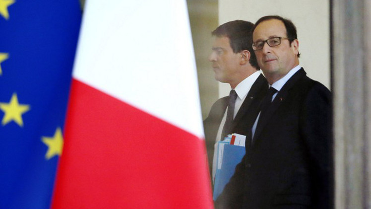 هولاند يأمر بنشر 10 آلاف عسكري لتأمين مختلف المؤسسات في فرنسا