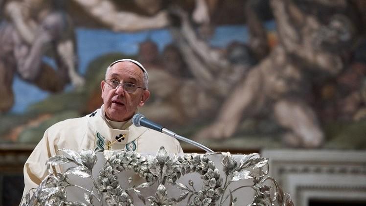 البابا يدين
