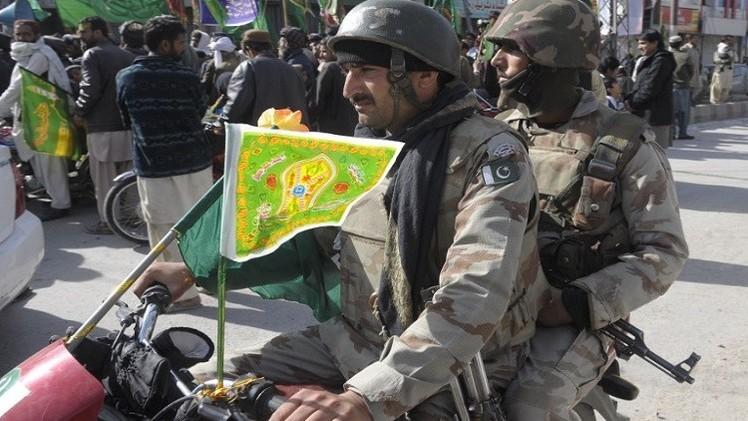 مقتل 7 من حرس الحدود الباكستاني بهجوم في إقليم بالوشستان