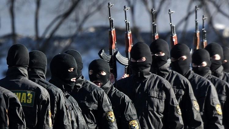 قوات الأمن في بيلاروس:
