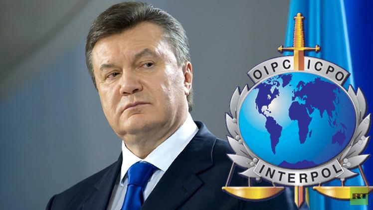 الإنتربول يطلب دوليا الرئيس الأوكراني السابق فيكتور يانوكوفيتش