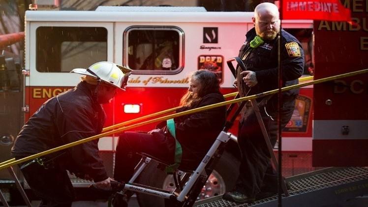 مقتل شخص وإصابة 83 في مترو الأنفاق بواشنطن (فيديو)