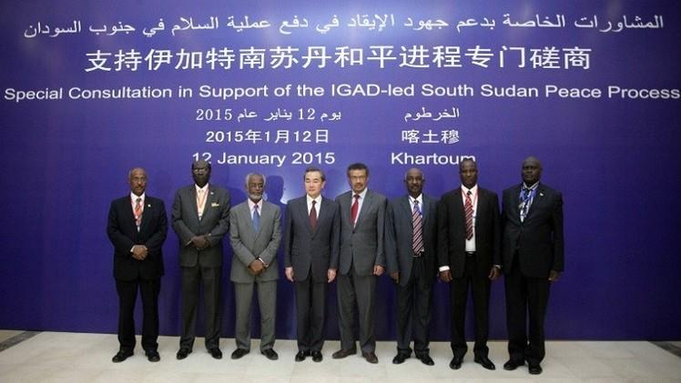الصين تحث طرفي الصراع في جنوب السودان على تسريع عملية السلام