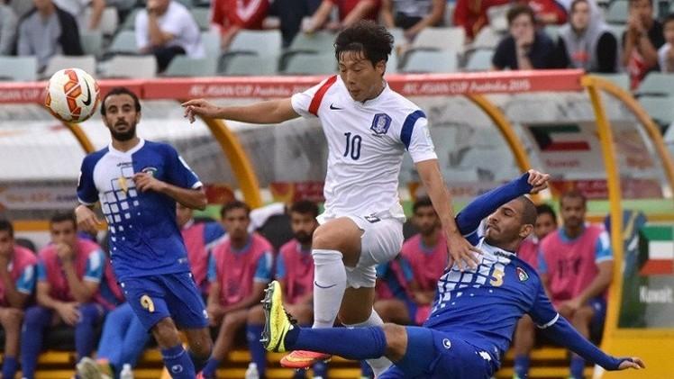 كوريا الجنوبية تتأهل لدور الثمانية لكأس آسيا بعد هزيمتها الكويت (فيديو)
