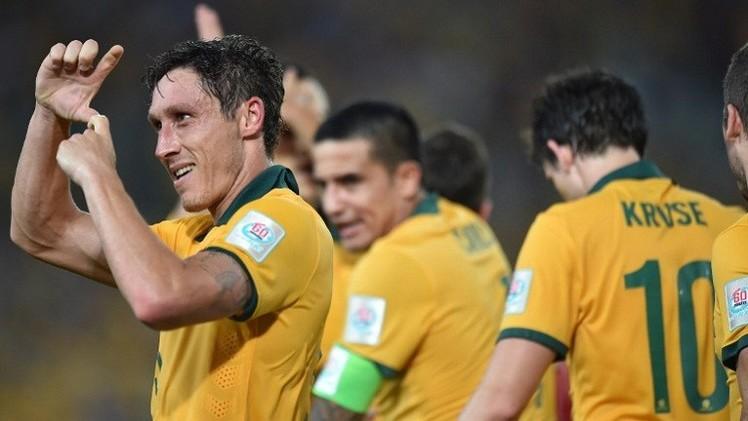 أستراليا تكتسح عمان برباعية وتتأهل لدور الثمانية في كأس آسيا
