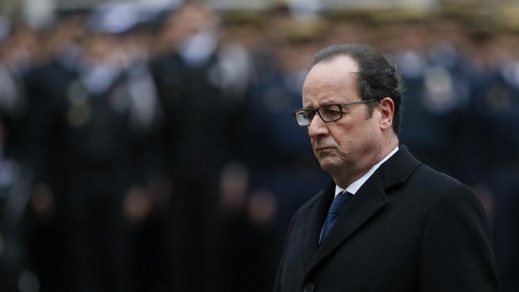 هولاند: قيم التعايش ستبقى سائدة في فرنسا