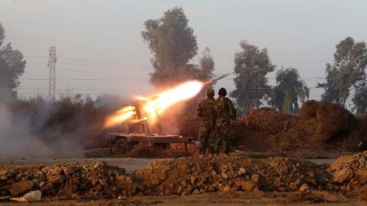 اشتباكات غربي الرمادي ومقتل العشرات من
