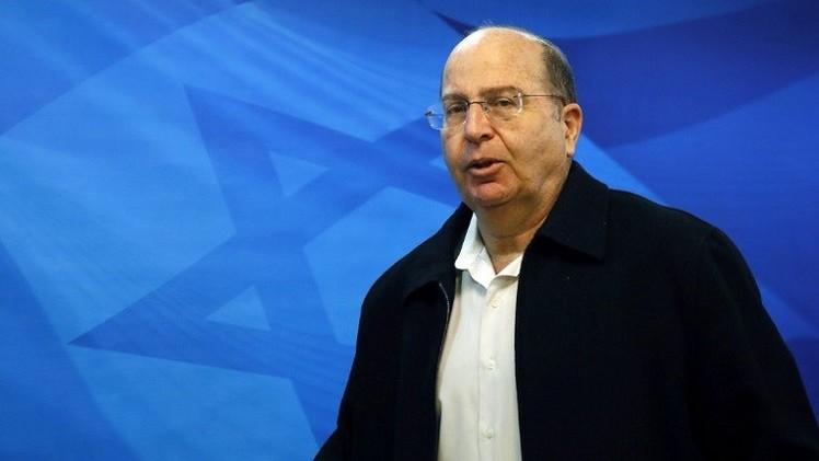يعالون يؤكد عدم تدخل إسرائيل في الصراع السوري