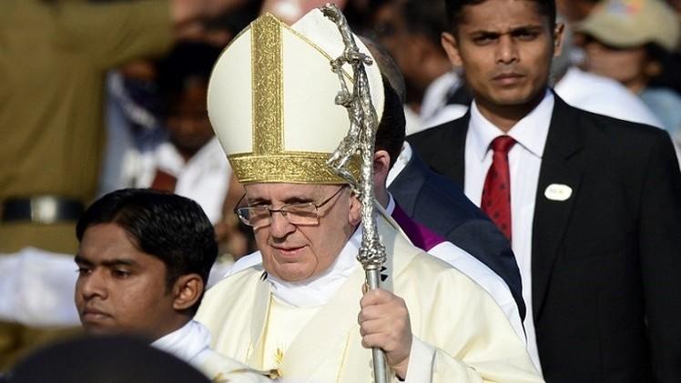 البابا في سريلانكا يدعو إلى الكشف عن حقيقة ما حدث خلال الحرب الأهلية