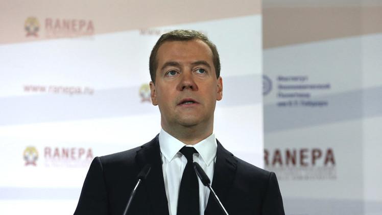 مدفيديف يأمل بتطبيع العلاقات مع الاتحاد الأوروبي قريبا