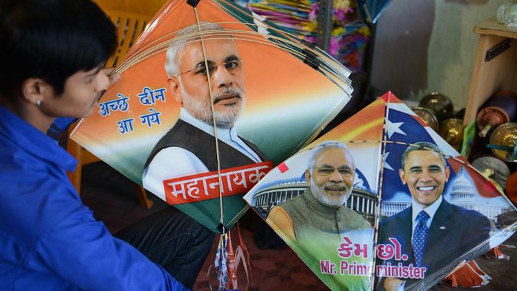 أوباما يزور الهند لدفع عجلة التعاون النووي والعسكري