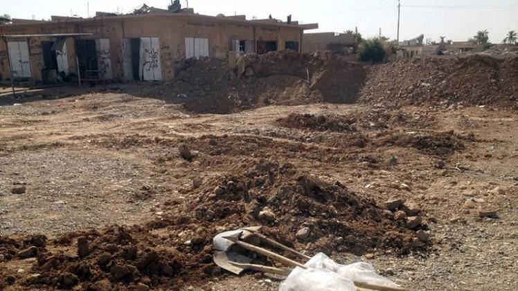 العثور على مقبرة جماعية تضم 16 جثة شرق العراق