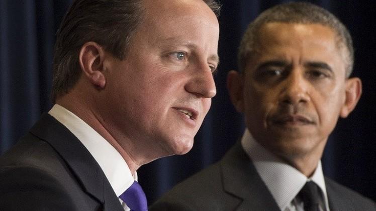 أوباما وكاميرون يقرران تشكيل جبهة موحدة لدحر
