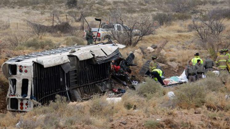 مقتل 10 أشخاص بحادث اصطدام حافلة بقطار في تكساس الأمريكية