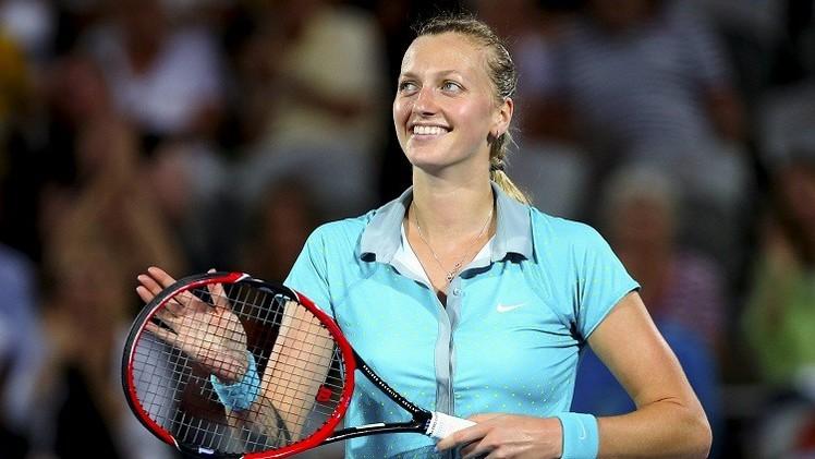 لقب بطلة دورة سيدني للتنس بين التشيكيتين كفيتوفا وبليشكوفا